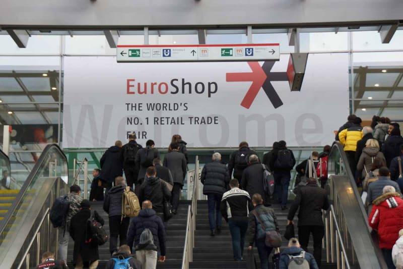 3年ごとにMesse Dusseldorfで開催される小売展示会「EuroShop」