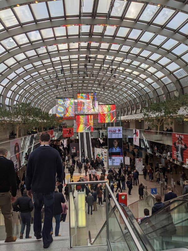 Messe Dusseldorfの会場は広く、「欧州一の小売展示会」とうたうのも納得の広さとなっている