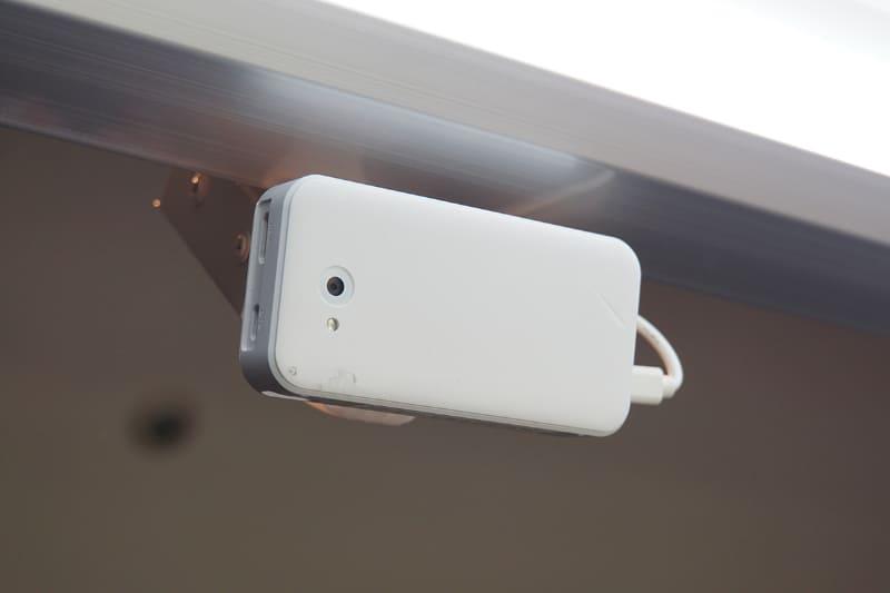 商品側から見たリテールAIカメラ