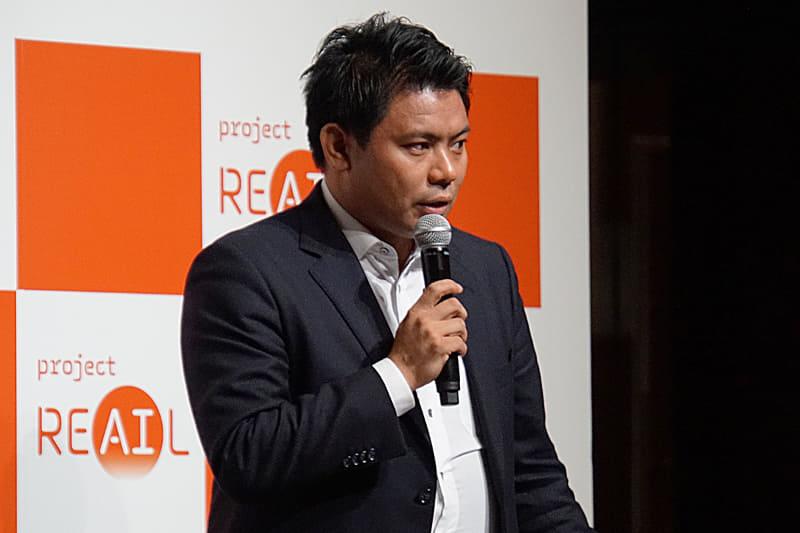 Retail AI 代表取締役社長 永田洋幸氏
