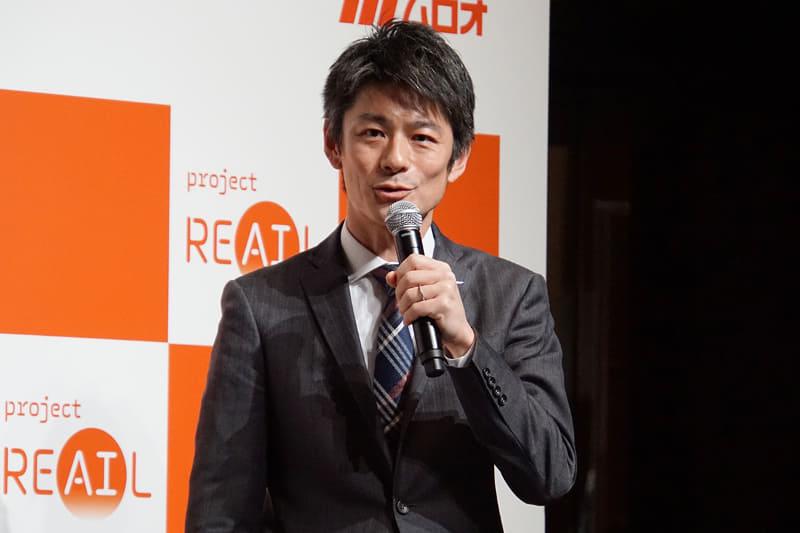 フクシマガリレイ 専務取締役 営業本部長 福島豪氏