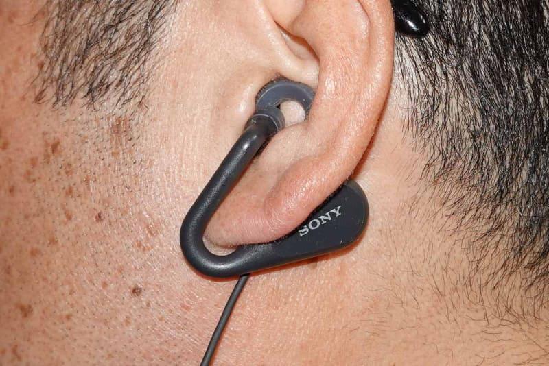 思ったよりも耳の穴は塞がっているように見えるが外の音は意外と聞こえる