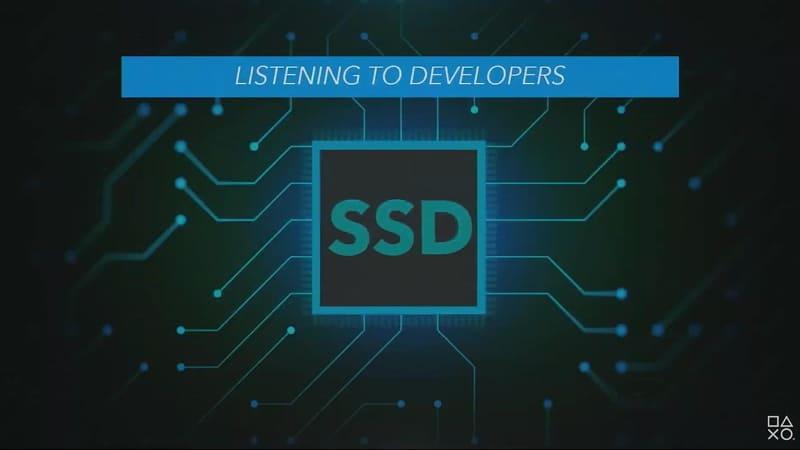 PS5はSSDの採用による高速化をアピール
