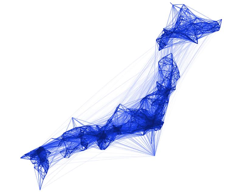 日本のロケーションパターン