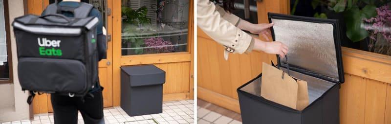 ナスタの保温機能付き宅配ボックス