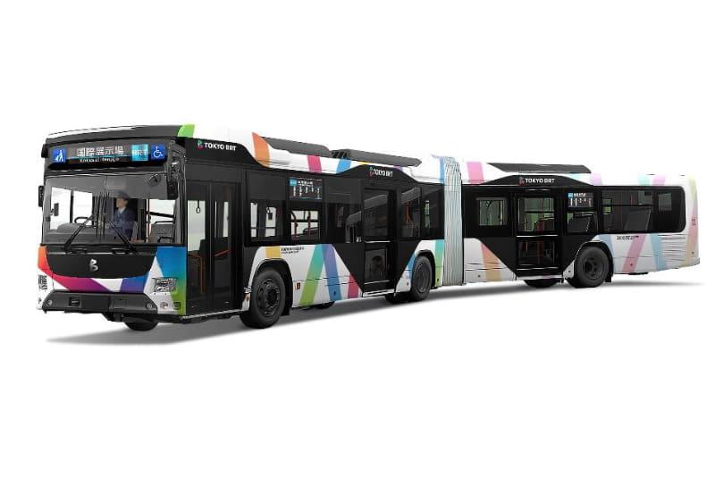東京BRT 連節車両