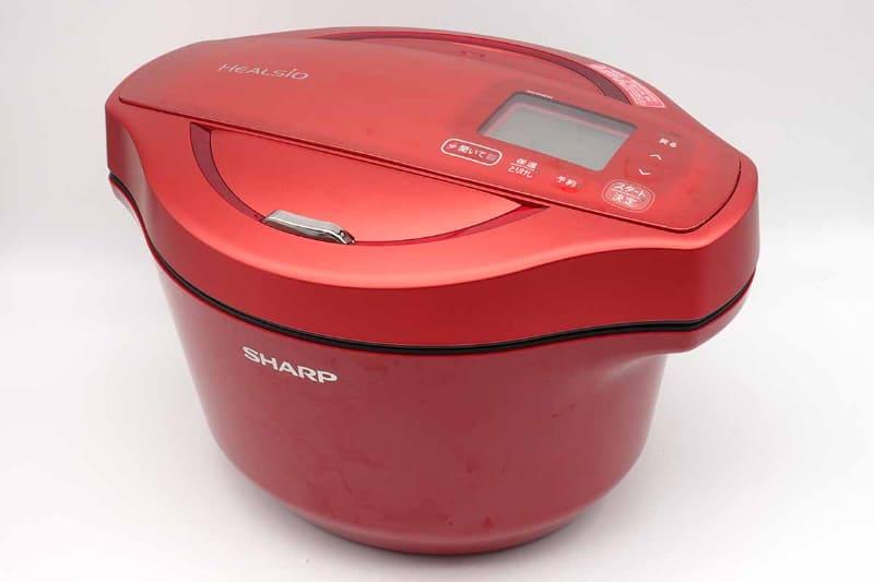2.4リットルで一番大きい無線LANモデル(KN-HW24E-R)を購入。色は「安かった」という理由で赤に