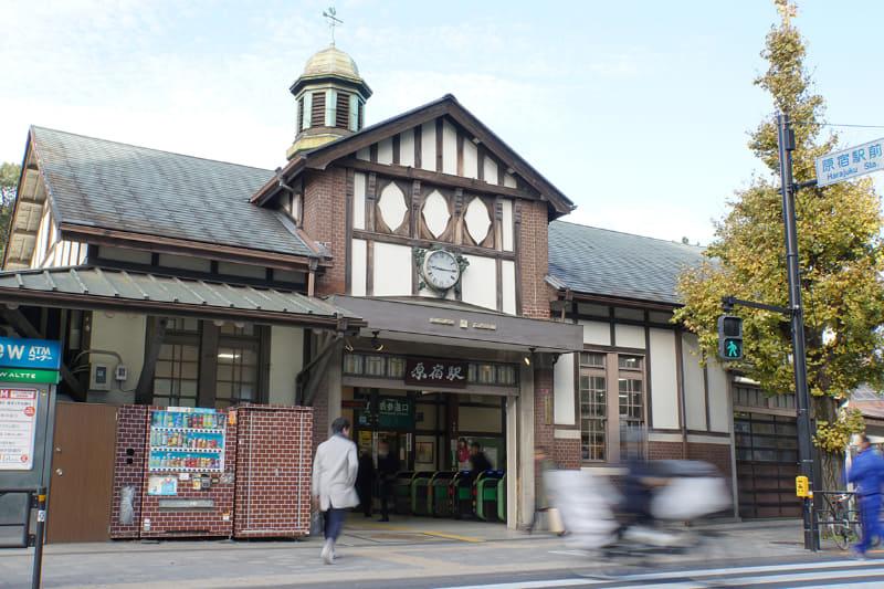 旧原宿駅舎(撮影日:2019年12月5日)