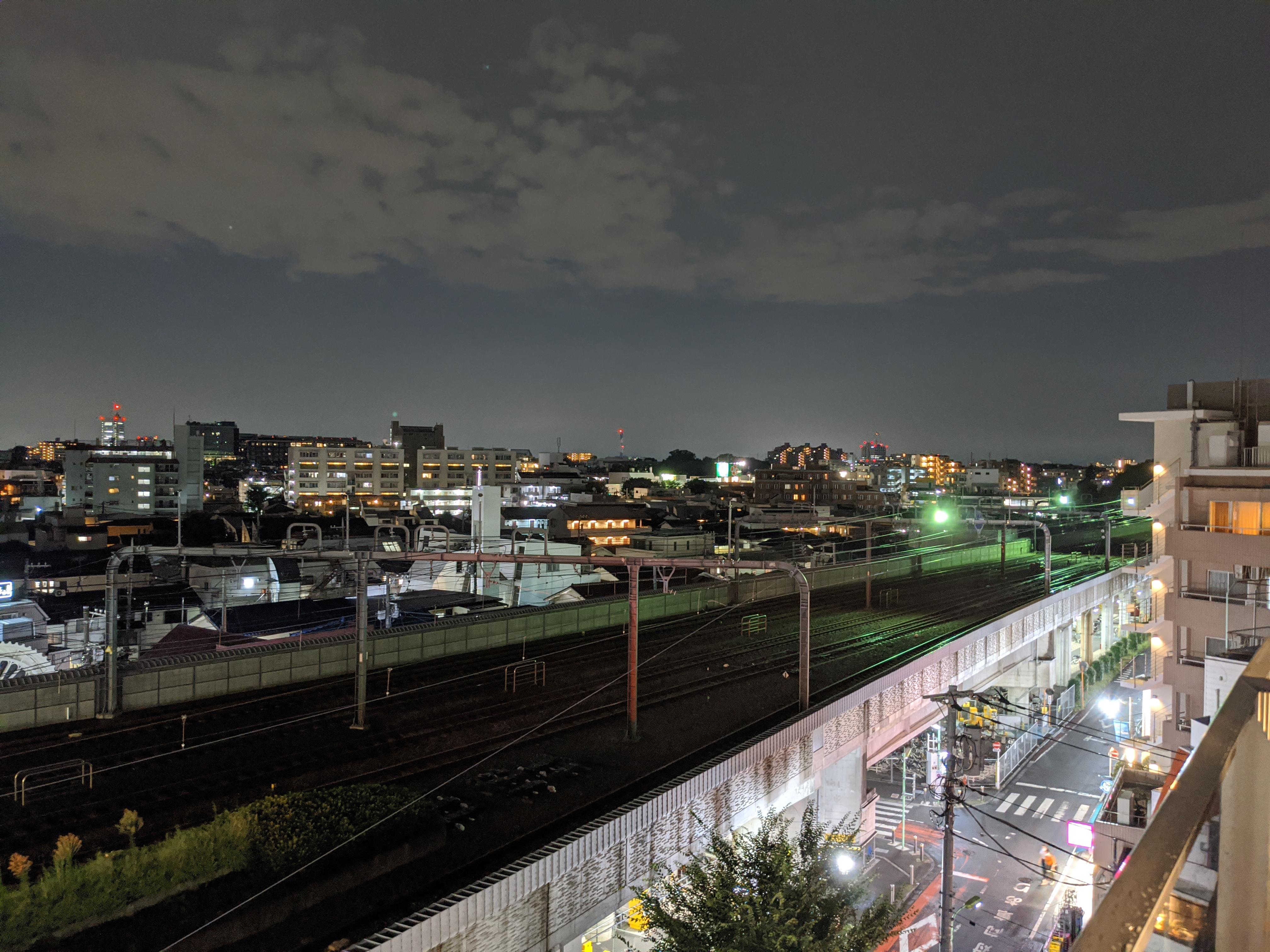 夜景モード