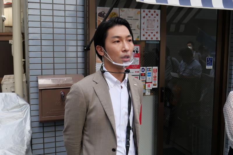 NTTドコモ プラットフォームビジネス推進部 ペイメントビジネス ペイメントビジネス担当主査の八代正俊氏