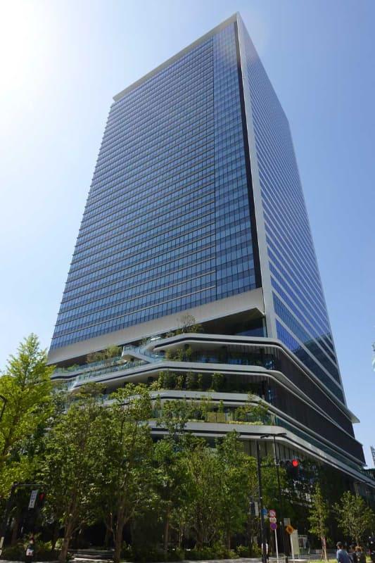 オフィスタワー外観