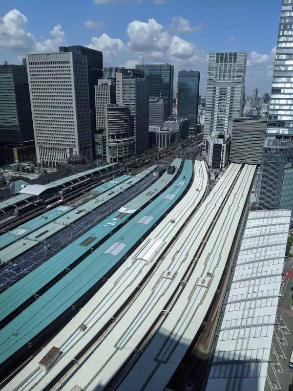 東京駅の俯瞰図。新型コロナウイルスの影響で人の移動に大きな変化が生じたが、今後10年でさらにどう変化していくのだろうか