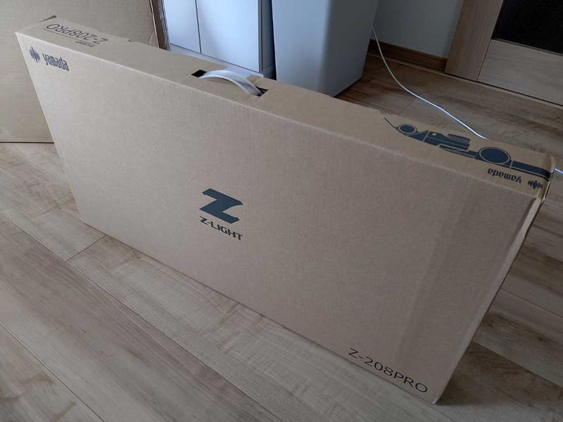 「Z-208PRO」のパッケージ