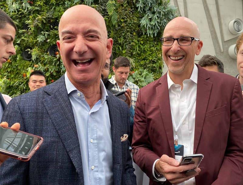 昨年の発表会にはジェフ・ベゾスCEOも登場。SIdewalkが同社にとって重要な技術であるとアピールした