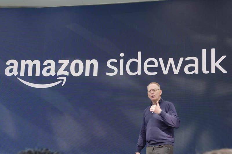 昨年秋のAmazon発表会より。通信方式として「Sidewalk」が発表されたものの、その詳細は明かされていなかった