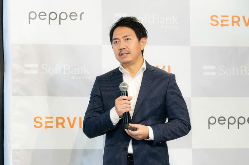 ソフトバンクロボティクスグループ 代表取締役社長 兼 CEO 冨澤文秀氏