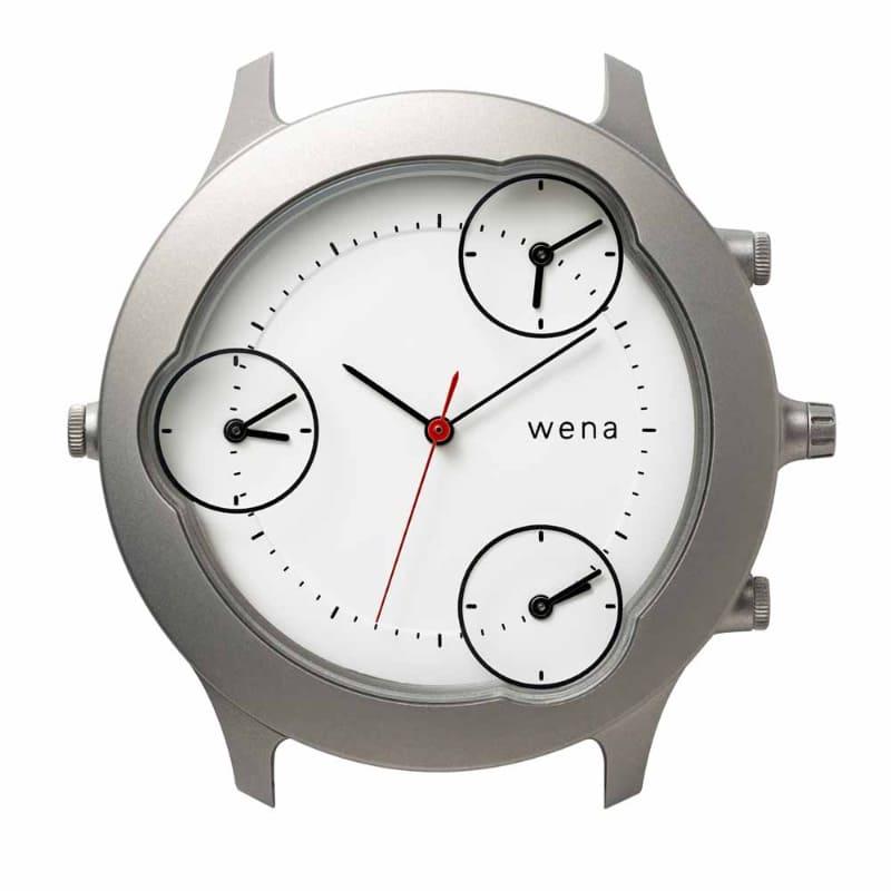 wena Three Hands Silver -Tokyo Edition