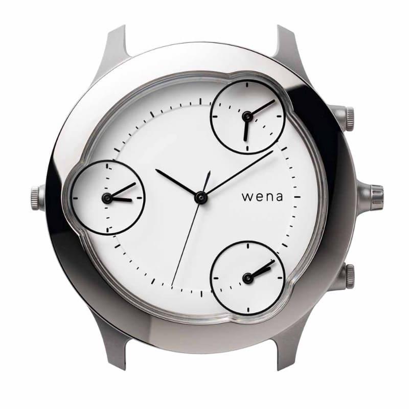 wena Three Hands Silver -Pasadena Edition