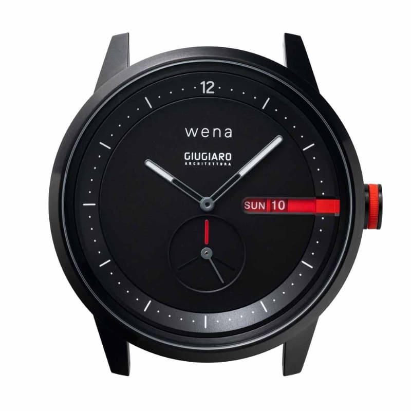 wena Three Hands Premium Black designed by Giugiaro Architettura