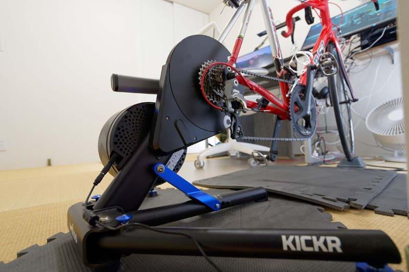 Wahooのスマートなサイクルトレーナー「KICKR」
