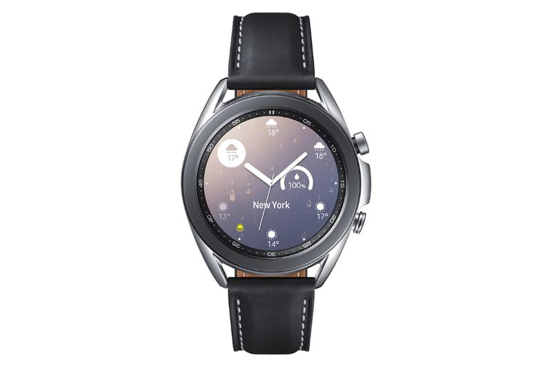 Galaxy Watch3 Stainless Steel 41mm ミスティック シルバー