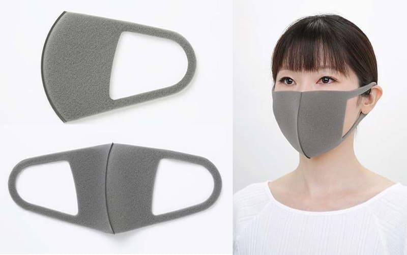 7倍空気を通しやすいウレタンマスク