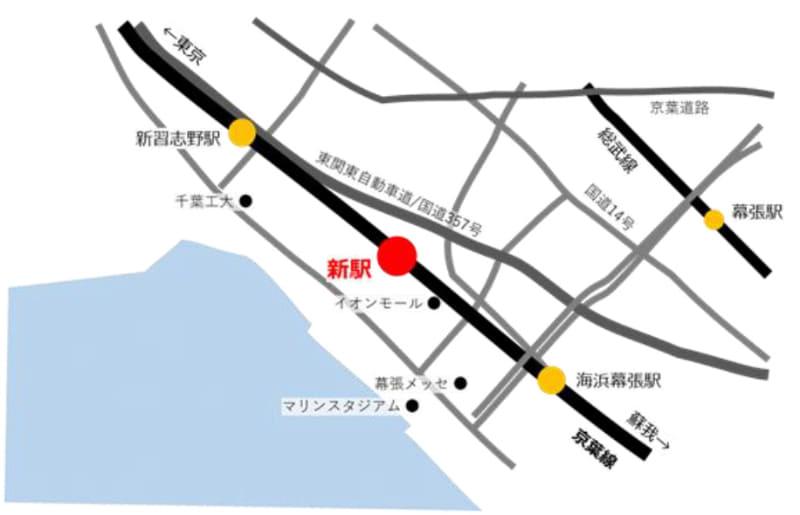新駅設置位置