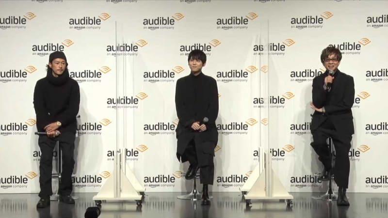 アレク氏2120制作発表会には、山寺宏一、梶裕貴、窪塚洋介、三石琴乃が参加