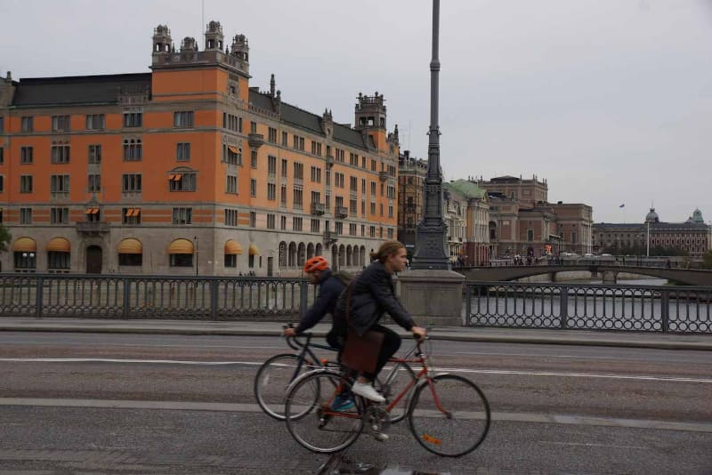 スウェーデンの首都ストックホルム