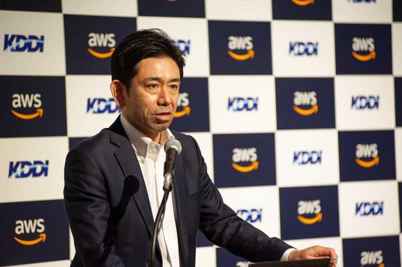 KDDI・ソリューション事業本部 サービス企画開発本部 副本部長 丸田徹氏