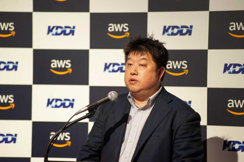 AWSジャパン・技術統括本部長 岡嵜禎氏