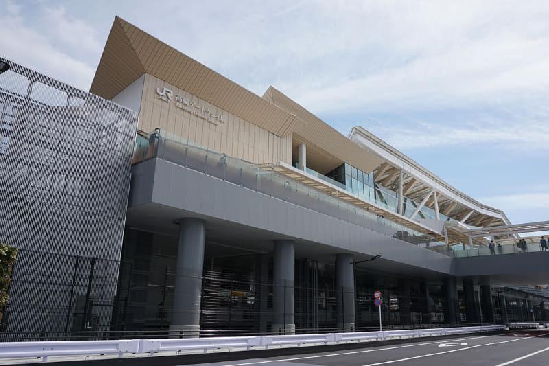 高輪ゲートウェイ駅(3月撮影)