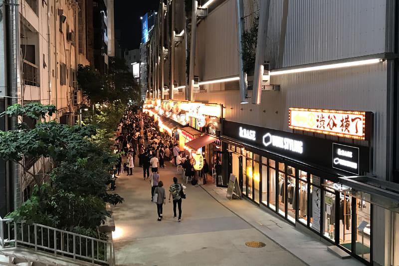 渋谷横丁(9月撮影)