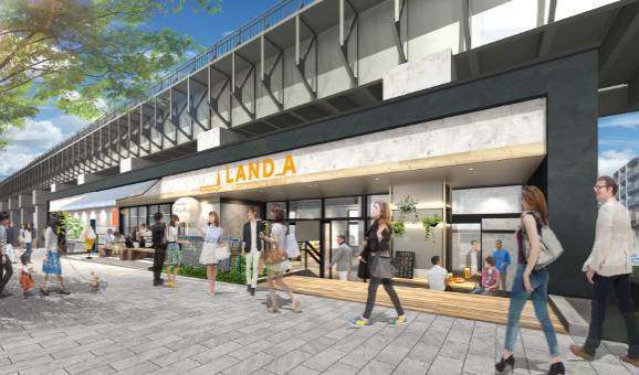 東京ミズマチ ウエストゾーン 「LAND_A」イメージ