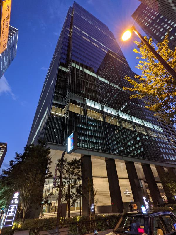 Otemachi One タワー(11月撮影)