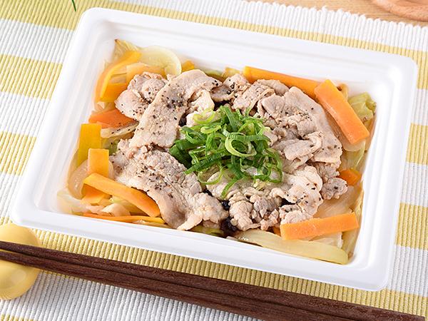 1/3日分の野菜が摂れる 豚バラのぽん酢だれ