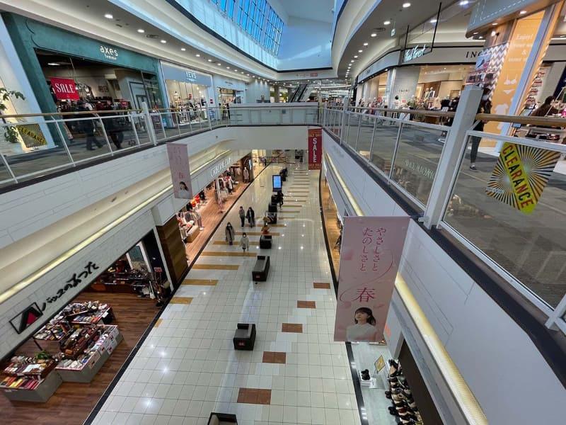 宮崎市最大のショッピングモール「イオンモール宮崎」、緊急事態宣言直後の様子