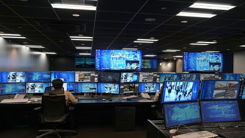 セントラル警備保障 画像センター