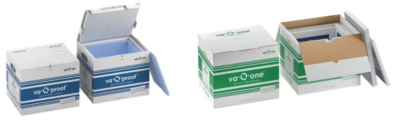 マルチユースタイプ「va-Q-proof」(左)、シングルユースタイプ「va-Q-one」(右)