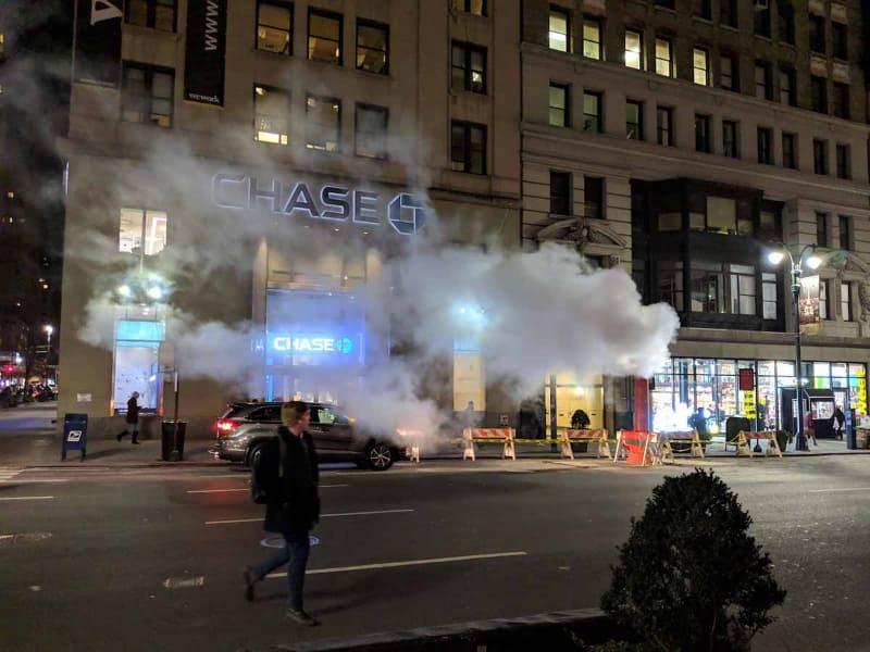 米ニューヨークにあるChaseの支店の1つ
