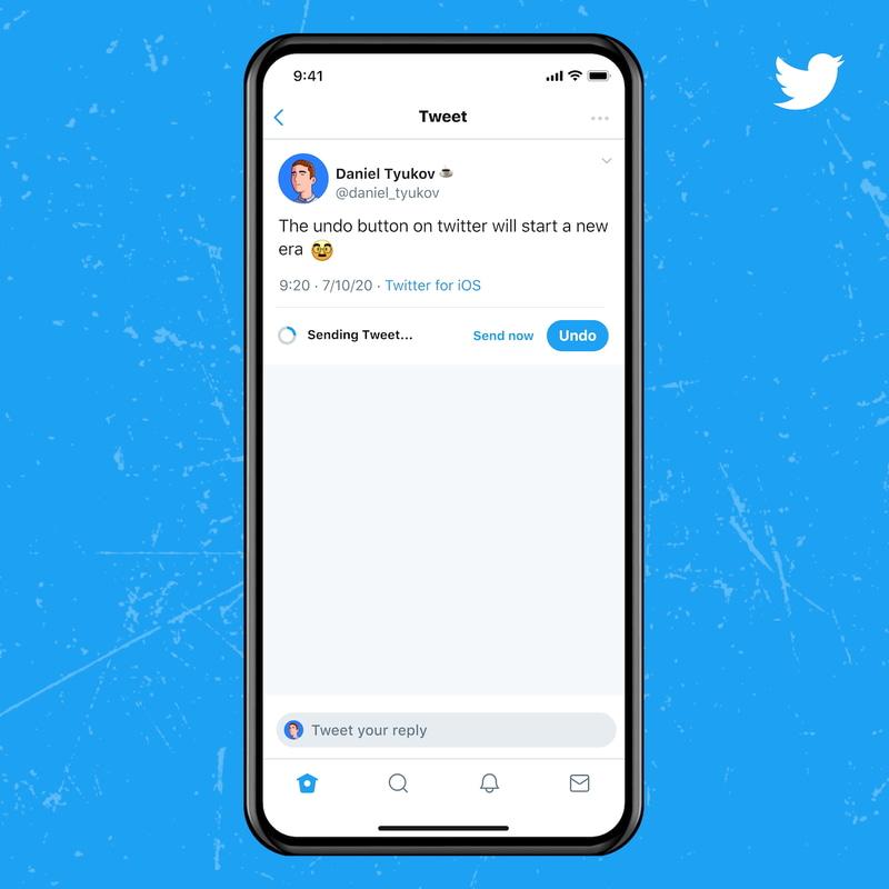 Twitter Blue契約者に提供されるアンドゥツイート機能