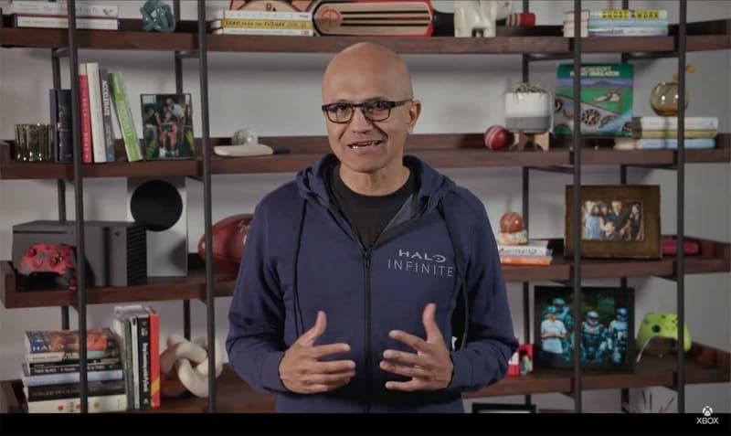 マイクロソフトのサティア・ナデラCEOも冒頭に登場、ゲームビジネスへの積極的な継続投資をアピールした