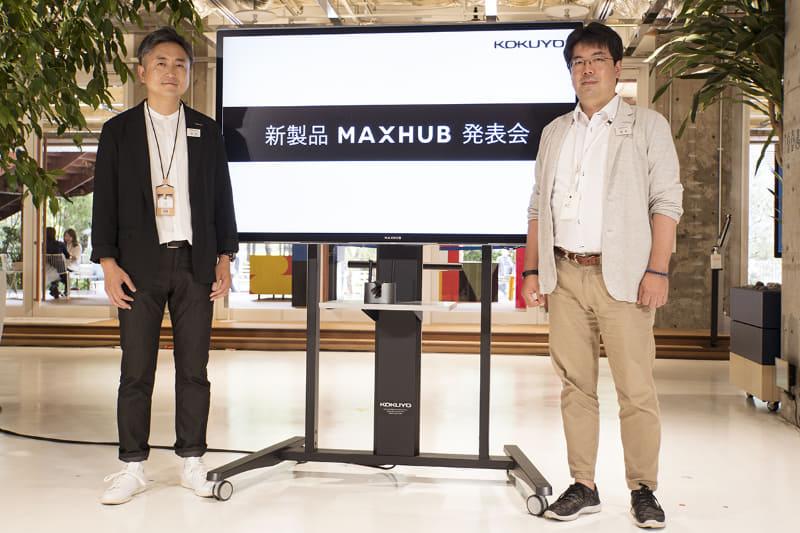 (左)永井潤氏、(右)坂本崇博氏
