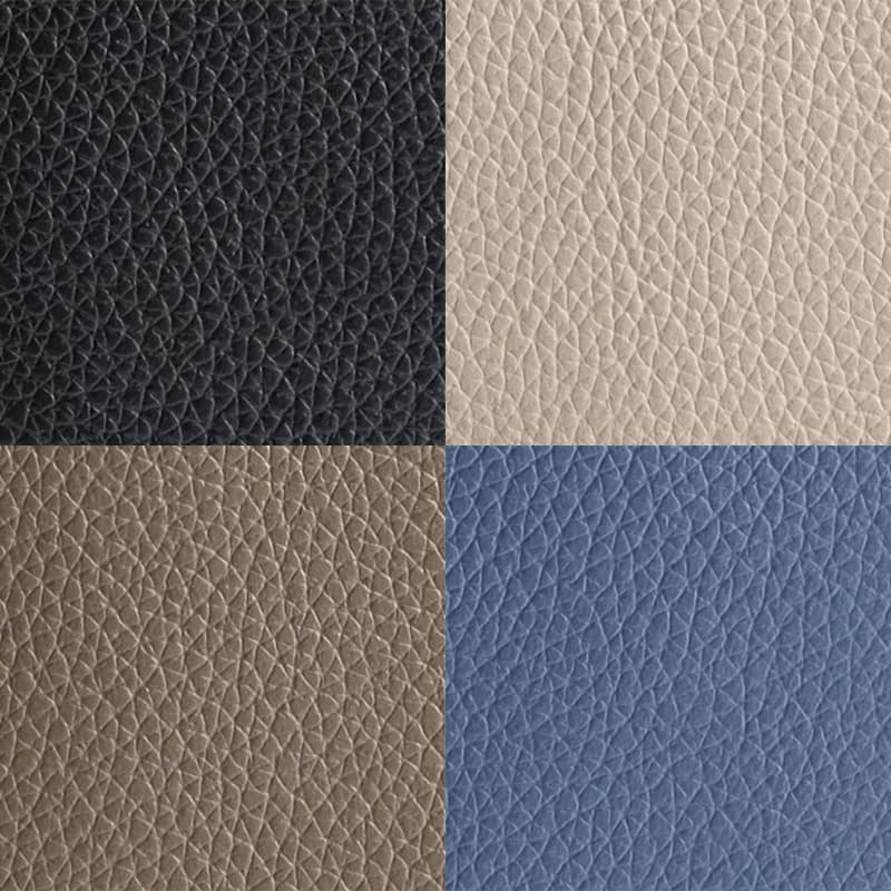 ブラック、ライトグレージュ、グレージュ、ブルーグレーの4色展開