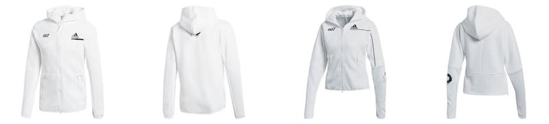 adidas Z.N.E. HOODIE - ホワイトタキシード