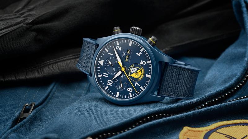 IWC パイロット・ウォッチ・クロノグラフ「ブルー・エンジェルス」エディション