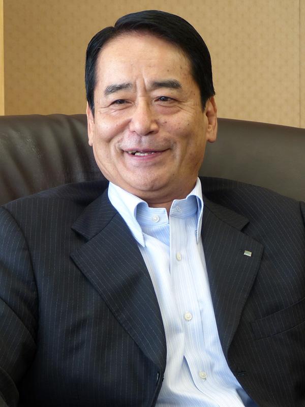 基礎研究から生まれた技術をセコムのような企業が現実に落とし込む、と話す小松崎常務執行役員