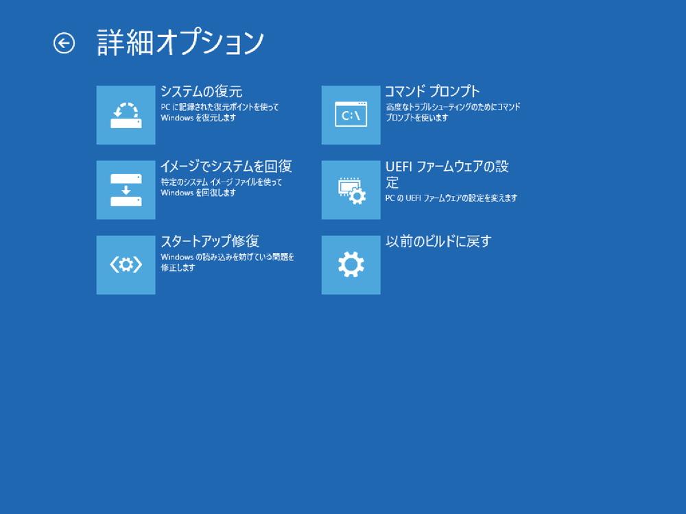 イメージバックアップからのフルリストアも可能だが、回復ディスクでの起動からネットワークにアクセスできないと意味がない。環境によっては、かなりハードルが高い