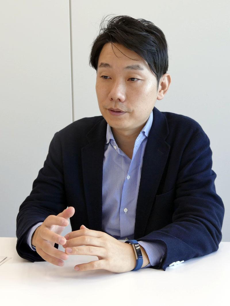 オープンイノベーションに取り組んでいることをぜひ周知したい、と語る藤井シニアアナリスト