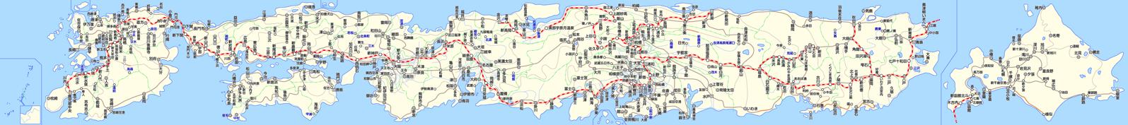 旧路線図(全国)